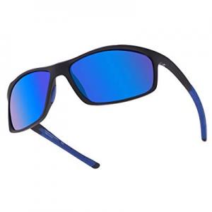 55.0% off GLASSESKING Designer Fashion Sports Sunglasses for Baseball Cycling Fishing Golf Superli..