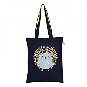 EcoRight Reusable 100% Cotton Canvas EcoFriendly Zipper Tote Bag Printed now 20.0% off