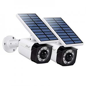 One Day Only!Solar Lights Outdoor Motion Sensor - BNT 800Lumens 8 LED Spotlight IP66 Waterproof no..