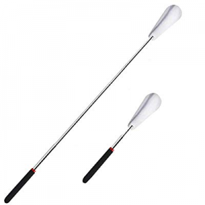 """Adjustable Stainless Steel Extra Long Handled Shoe Horn 10"""" to 29"""" now 50.0% off"""