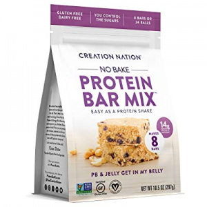 PROTEIN BAR MIX ~ No-bake & Easy as a Protein Shake! Makes 8 Bars now 20.0% off , 12-14g protein/ ..