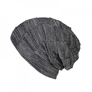 BOMPOW Hats for Women Men Baby Warm Winter Hat Fleece Lined Cosy Knitted Beanie Hat now 60.0% off