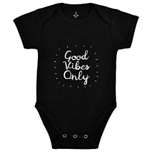 Good Vibes Only Yoga Baby Organic Cotton Girl Boy Clothes Onesies Baby Shower now 15.0% off