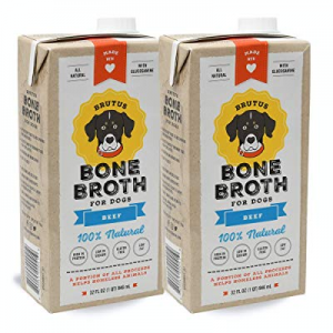 10.0% off Brutus Bone Broth for Dogs | Healthy Beef Made in USA | Glucosamine & Chondroitin | Huma..