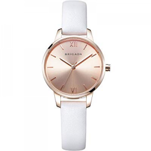 Nice Fashion Elegant Rose Gold Ladies Watch now 20.0% off , Swiss Brand Leather Band Waterproof Ro..