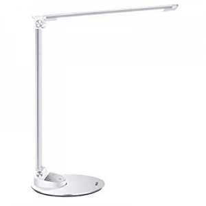 LED Desk Lamp with USB Charging Port now 30.0% off , Miroco Aluminum Alloy Table Lamps with Memory..