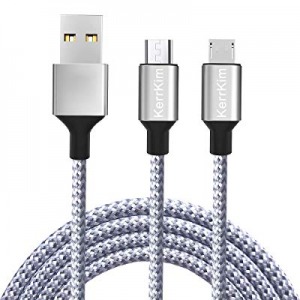 One Day Only!Micro USB Cable now 60.0% off , 6 Feet Extra Long Nylon Braided High Speed Durable An..