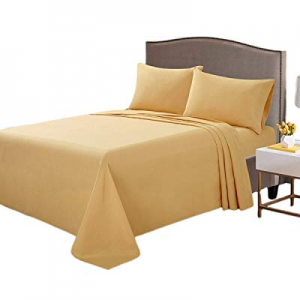 One Day Only!ARTALL Twin Sheet Set now 50.0% off , 1800 Ultra-Soft Brushed Microfiber Bed Sheets w..
