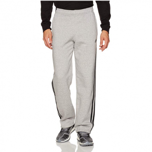 adidas Men's Essentials 3 Stripe Regular Fit Fleece Pants @ Amazon