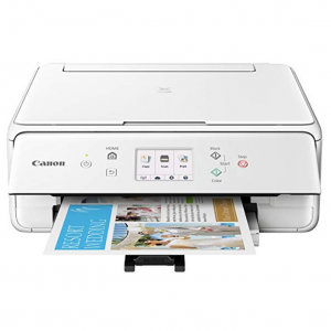 Canon PIXMA TS6120 无线彩色照片打印机 带扫描、复印功能 @Amazon