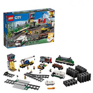 LEGO City Cargo Train 60198 Remote Control Train Building Set(1226 Pieces) @ Amazon