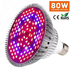 One Day Only!Led Grow Light Bulb now 50.0% off , 80W Plant Lights Full Spectrum for Indoor Plants ..