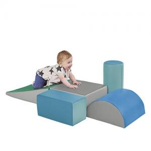 Prime Day: ECR4Kids SoftZone Climb and Crawl Foam Play Set