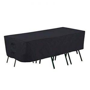 One Day Only!PrimeShield Waterproof Large Patio Furniture Set Cover now 30.0% off , Fit for Oval R..