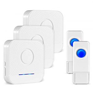 Wireless Doorbell Operating at Over 1000-feet Range with Over 52 Chimes now 20.0% off , 4 Levels A..