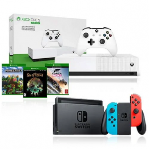 Nintendo Switch + Xbox One S 1TB Digital Console $399 @Google Express
