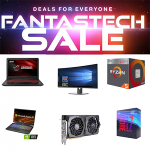 Newegg 2019 Fantastech Sale on PCs and Laptops, Storage, Gaming and More