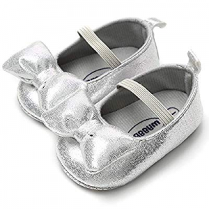 One Day Only!LIVEBOX Infant Newborn Baby Girl Shoes now 50.0% off , Premium Soft Anti-Slip Bow Cri..