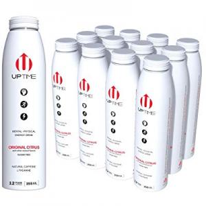 UPTIME Original Citrus Zero Sugar (12 Pack) now 10.0% off , Premium Energy Drink, 12 oz Bottles, N..