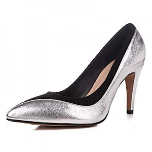 One Day Only!40.0% off sorliva Office Stiletto High Heels Closed Pointy Toe - Dress Slip On Pumps ..