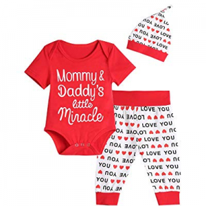 Baby Girls Boy Little Miracle Pant Clothing Set now 45.0% off