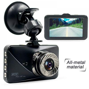 Poetele Metal Shell Dash Cam now 50.0% off ,Small Dashboard Car Camera Recorder with Full HD 1080P..