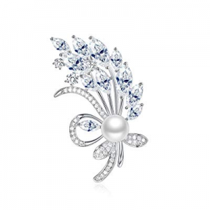 One Day Only!UMODE Luxury Cubic Zirconia Brooches and Pins now 70.0% off