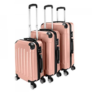 """3-in-1 Portable ABS Trolley Case 20"""" / 24"""" / 28"""" now 80.0% off"""