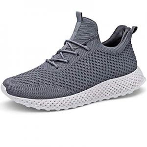 LANCROP Women's Running Shoes - Lightweight Athletic Slip on Walking Sneakers now 35.0% off