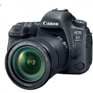Canon EOS 6D Mark II DSLR with EF 24-105mm f/3.5-5.6 IS STM Lens + accessory kit $1699 @Adorama