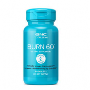 40% OFF GNC TOTAL LEAN BURN 60 @GNC