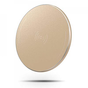 OMOTON Wireless Charger now 50.0% off , Ultra-Slim Wireless Charging Pad with Anti-Slip Rubber for..