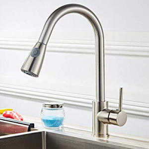 One Day Only!Tenozek All Copper Kitchen Pull Faucet now 80.0% off