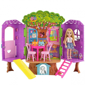 Barbie 芭比豪华树屋玩具 @ Amazon