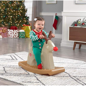 Step2 Rudolph The Rocking Reindeer Toy, Brown @ Amazon