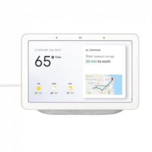 Google - Nest Hub with Google Assistant - Charcoal @Dell