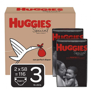 Huggies Special Delivery Hypoallergenic Baby Diapers Sale @ Amazon