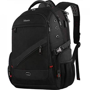 One Day Only!MATEIN Large Capacity Backpack now 20.0% off , TSA Friendly Travel Business Bag Lapto..
