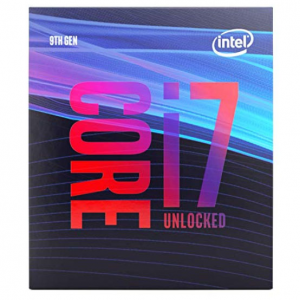 Intel Core i7-9700K Desktop Processor 8 Cores up to 4.9 GHz @ Amazon