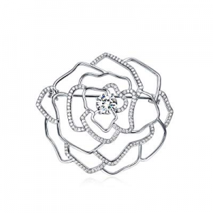 UMODE Luxury Cubic Zirconia Brooches and Pins now 70.0% off