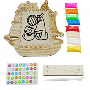 DIY Creative Snow Clay Art Activity Kit now 50.0% off ,Crafts for Kids - Create Children's Own Cra..