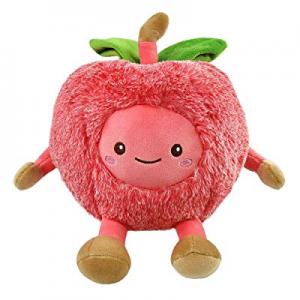 Niuniu Daddy 12 inch Cherry Food Plush Toys Shaped Fruit Series Cuddly Cushion Stuffed Cute Doll n..