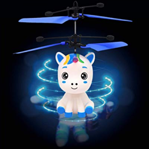COOVEE Flying Ball Toy now 30.0% off , Hand-Controlled Rechargeable Infrared Induction Drone RC Fl..