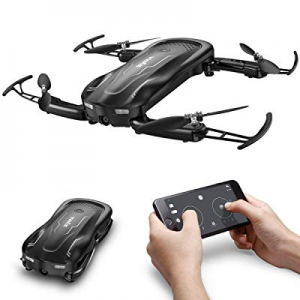 Syma Z1 Foldable RC Drone with 720 HD Wi-fi Camera Live Video FPV now 40.0% off , 2.4GHz 6-Axis Gy..
