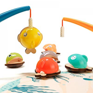 TOP BRIGHT Magnetic Fishing Games now 50.0% off , Kids Fine Motor Skills Preschool Toys, Toddler T..