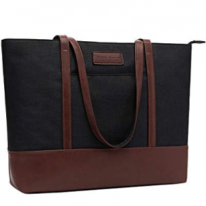 Laptop Tote Bag now 10.0% off ,Fits 15.6-17 Inch Laptop Briefcase for Women,Womens Lightweight Wat..