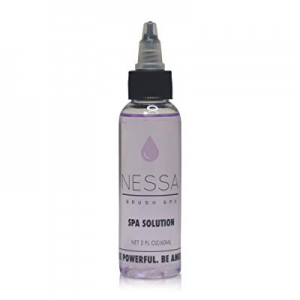 2 x 2oz Nessa Brush Spa Solution, Quick Drying Makeup Brush Cleaner now 20.0% off