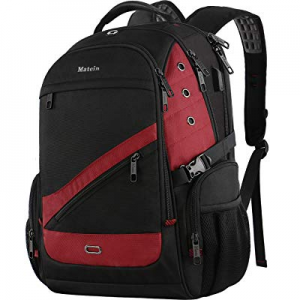 MATEIN Large Travel Backpack now 20.0% off , 17.3 Inch Laptop TSA XL Heavy Duty Computer Backpack ..