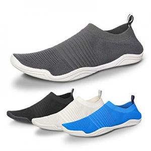 5.0% off Camfosy Men Women Water Shoes Quick Dry Barefoot Aqua Socks Swim Shoes Pool Beach Walking..
