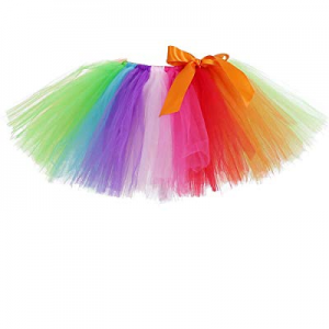 AQTOPS Girls Party Fluffy Tutu Skirt Elastic Short Tutus now 55.0% off